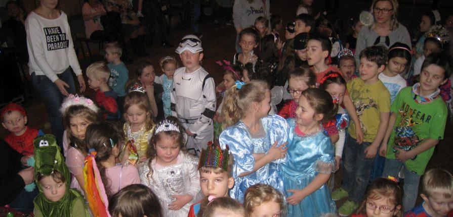 Zabawa karnawałowa dla dzieci 2017