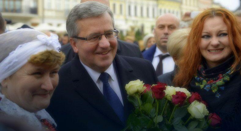 Prezydent Bronisław Komorowski w Rzeszowie